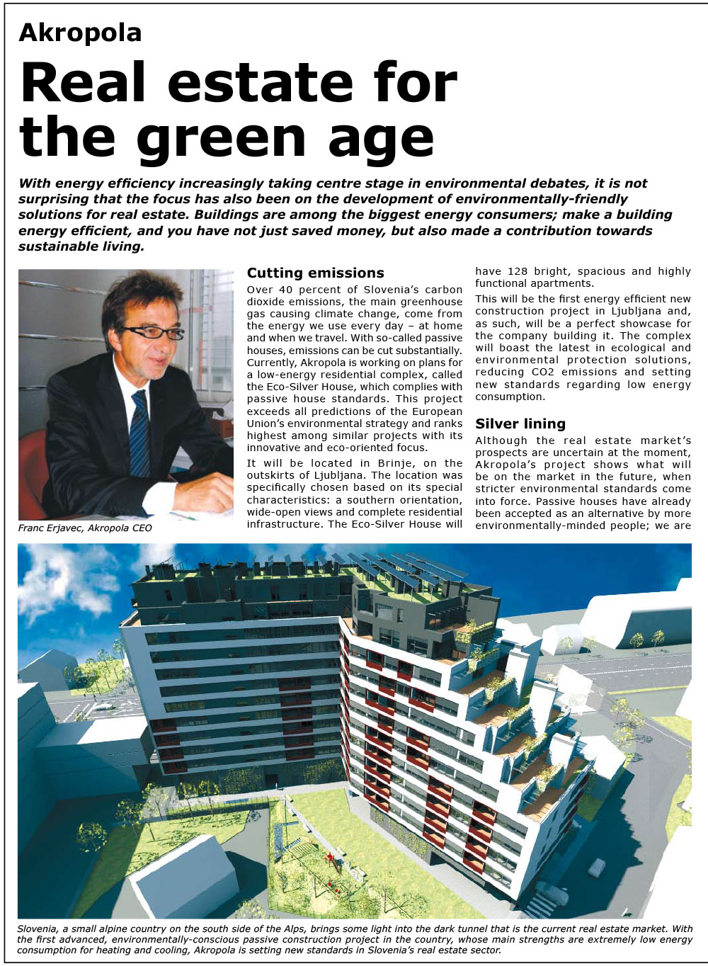 Akropola - Real estate for the green age